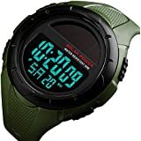 Men's Solar Digital Sports Watch, 50M...