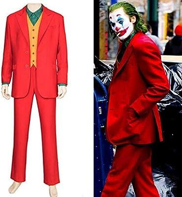 WSJDE Joker Arthur Fleck Disfraz de Cosplay Fancy Carnival ...