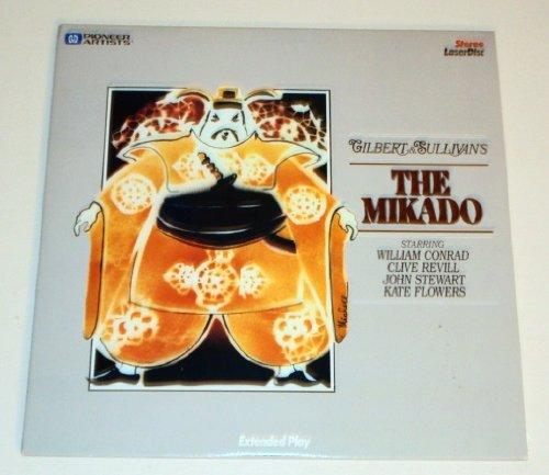 Gilbert & Sullivan's The Mikado Laserdisc