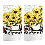 American Mills Yellow Sunflower Decor 5 Piece
