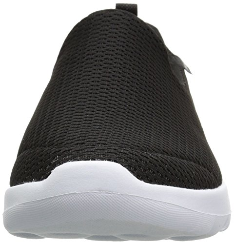 Skechers Performance Women's Go Walk Joy Walking Shoe,black/white,5 W US by Skechers (Image #4)