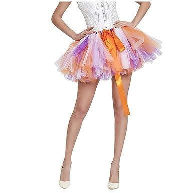 SUCCESS - Falda de Tul para Mujer, Vestido de Noche, Falda de tutú ...