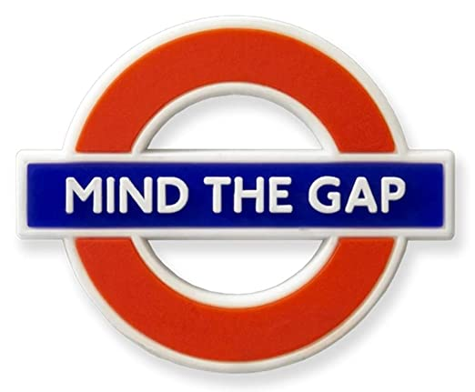 GWC London Underground Mind The Gap - Imán para Nevera (Goma ...