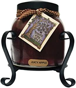 A Cheerful Giver Black Candle Jar Holder