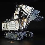 LIGHTAILING-Set-di-Luci-per-Technic-Power-Functions-Escavatore-Liebherr-R-9800-Modello-da-Costruire-Kit-Luce-LED-Compatibile-con-Lego-42100-Non-Incluso-nel-Modello