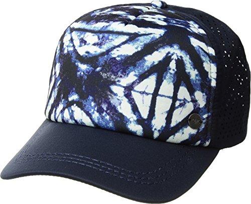 Roxy Junior's Waves Machines Trucker Hat, Dress Blues Geometric Feeling, One Size ()