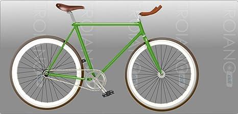 Bicicleta Vintage Hombre Single Speed Fixed: Amazon.es: Deportes ...