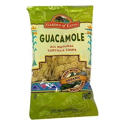 Garden of Eatin' Tortilla Chips, Guacamole, 8.1 Ounce (Pack of 12)