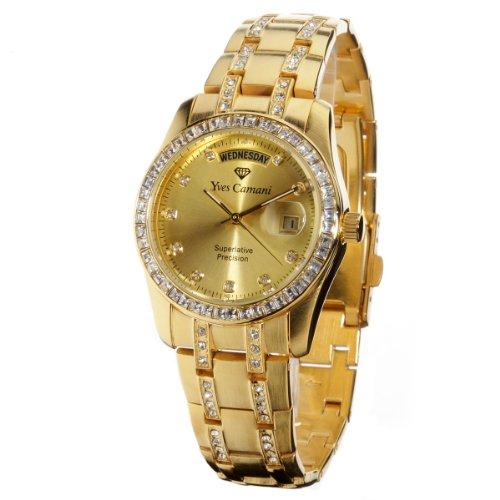 Yves Camani Auron Gold Gents Watch YC600G-G