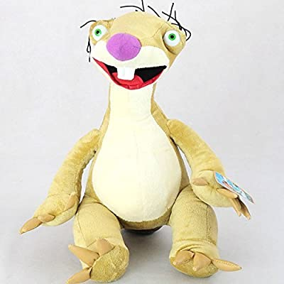 Ice Age 4 Sid The Sloth 9 Inch Toddler Stuffed Plush Kids Toys - 0721245713202