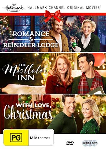 Hallmark Christmas 3 Film Collection (Romance at Reindeer Lodge/The Mistletoe Inn/With Love Christmas) (A For Dvd Christmas Dream)