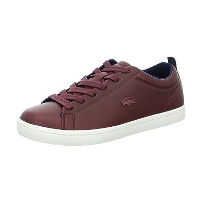 Straightset Lace Damen Sneaker Low Größe 42 Rot (Rot) Lacoste 100% Ig Garantiert Günstiger Preis zwlFDt