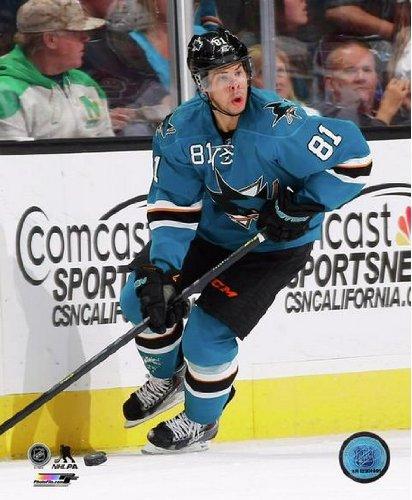 Tyler Kennedy San Jose Sharks 2013-2014 NHL Action Photo ()