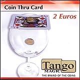 Coin thru Card 2 Euro by Tango