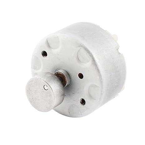 sourcingmap® DC Motor eléctrico de soldadura de vibración 3-12V 7200RPM de velocidad de