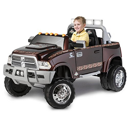 Ram 3500 Dually Longhorn Edition 12-Volt Battery-Powered Ride-On, Multicolor by Kid Trax