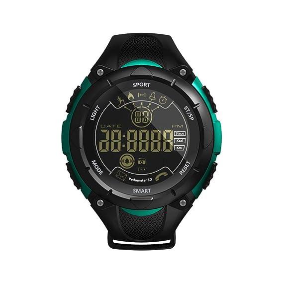 Amazon.com: Alloet BT4.0 Waterproof Smart Watch Wristwatch ...