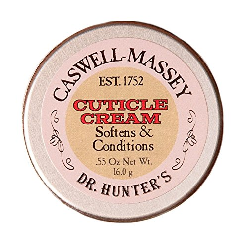 Caswell-Massey Dr. Hunter's Cuticle Cream – Natural Balm Promotes Healthy Nails , Nail Growth - 0.34 Ounces