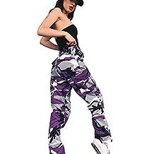 Women Jeans, Fashion Sports Camo Pants Camouflage Trousers Jeans