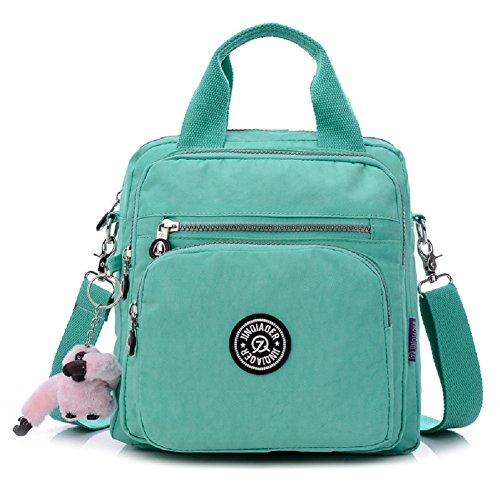 urmiss-multifunctional-waterproof-lightweight-messenger-bag-cute-multi-pocket-zipper-travel-backpack