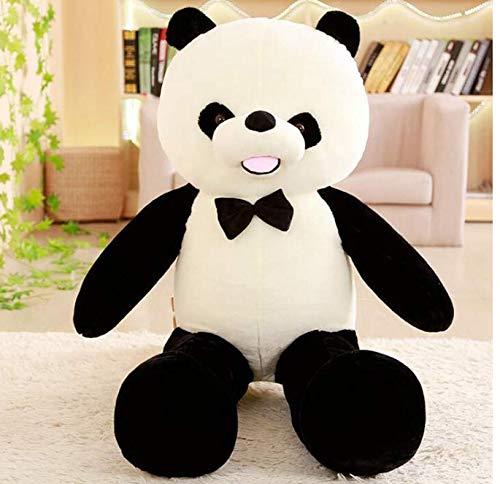 RKZM Suave Blanco y Negro Oso Panda Gigante muñeca Juguete ...