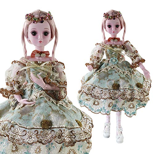 LtrottedJ BJD Doll SD Doll 60cm/24inch Princess Bride for Girl Gift and Dolls Collection ()