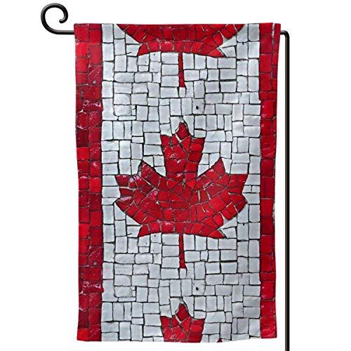 Canadian Maple Leaf Garden Yard Flag 12.5