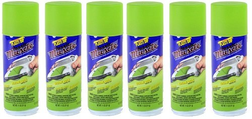 Performix 11308-6 Sublime Green Classic Muscle Car Rubber Coating, 11 oz, 6 Pack