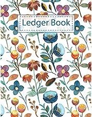 Ledger Book: 4 Column Accounting Ledger Book | Columnar Notebook | Bookkeeping Notebook | Accounting Ledger Book Simple Accounting Ledger For Bookkeeping