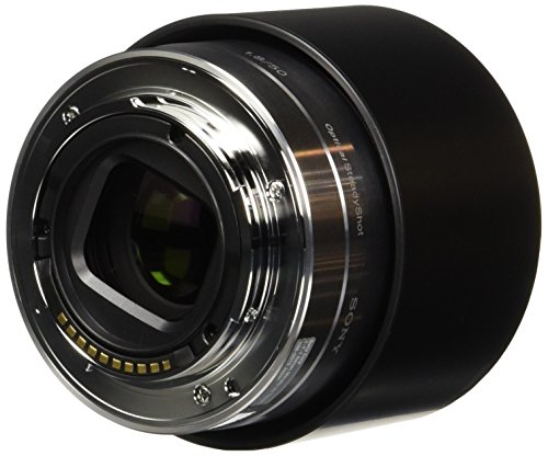Sony 50mm f/1.8 Mid-Range Lens for Sony E Mount Nex Cameras