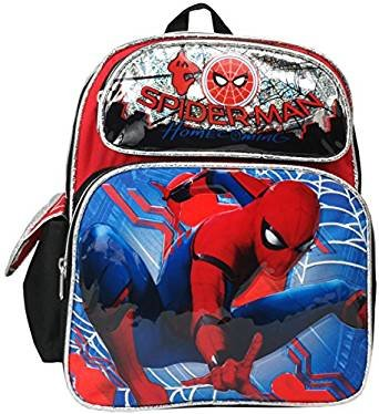 Marvel Spiderman Home Coming 12'' Toddler Mini Backpack by spiderman