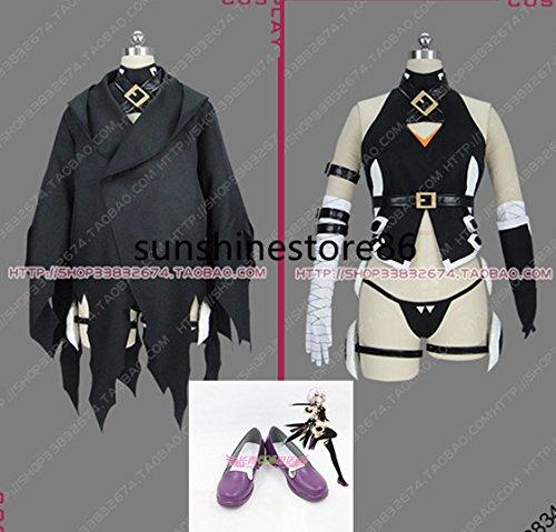 「ノーブランド品」コスプレ衣装 Fate/Grand Order ジャック・ザ・リッパー +手袋+コート+靴