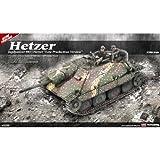 "Academy Jagdpanzer 38(t) Hetzer ""Late Version"" Military Land Vehicle Model Building Kit"