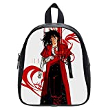 Custom Alucard Hellsing Backpack Kid's School Backpack Bag (Small)