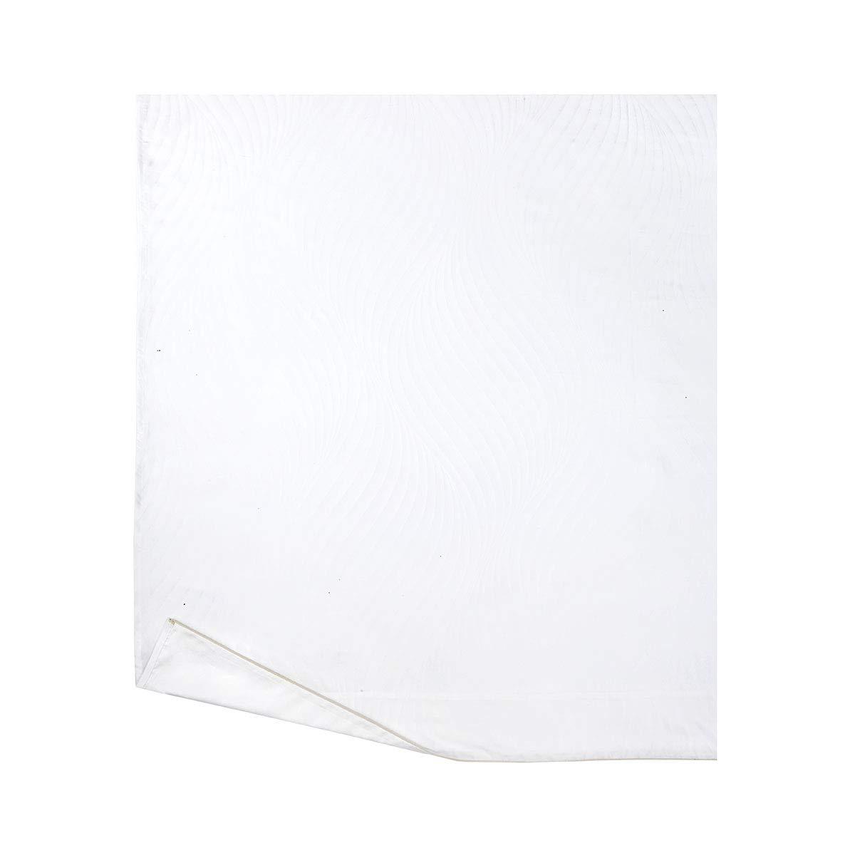 Yves Delorme - Plisse フラットシーツ Full/Queen YUS944523 B07NXVBZHH Blanc (White) Full/Queen