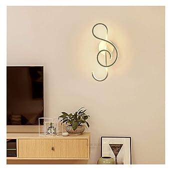 Intérieur Xlgx Créatif Moderne Lampe Led Applique Murale E9IDH2