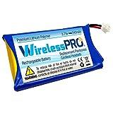 Wireless Pro® Premium Replacement Rechargeable Battery for Plantronics CS50 CS50-USB CS55 CS60 Avaya AWH-55 Replaces Plantronics 64327-01 64399-01 64399-03 65358-01 64399-01