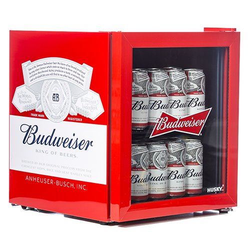 Husky HUS-HU225 Budweiser Drinks Cooler [Energy Class A+]