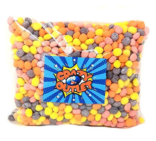 CrazyOutlet Pack - Nerds Bumpy Jelly Beans, Easter Candy Bulk Candy, 5 -