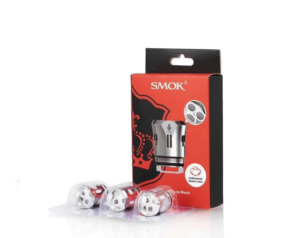 SMOK TFV12 Prince Triple Mesh Bobines 0.15 ohm Sin nicotina ni tabaco 3 Pz