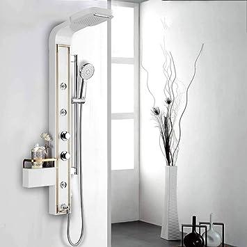 Sistema de ducha, conjunto de paneles de ducha Color de la pantalla de ducha Conjunto de