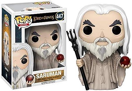 Funko - Pop! Vinilo Colección El señor de los Anillos - Figura Saruman (13555): Amazon.es: Juguetes y juegos