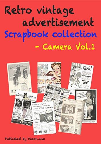 Retro Magazine Advertisement - Retro vintage advertisement Scrapbook collection - Camera Vol 1 (Dioon Inc) (Japanese Edition)
