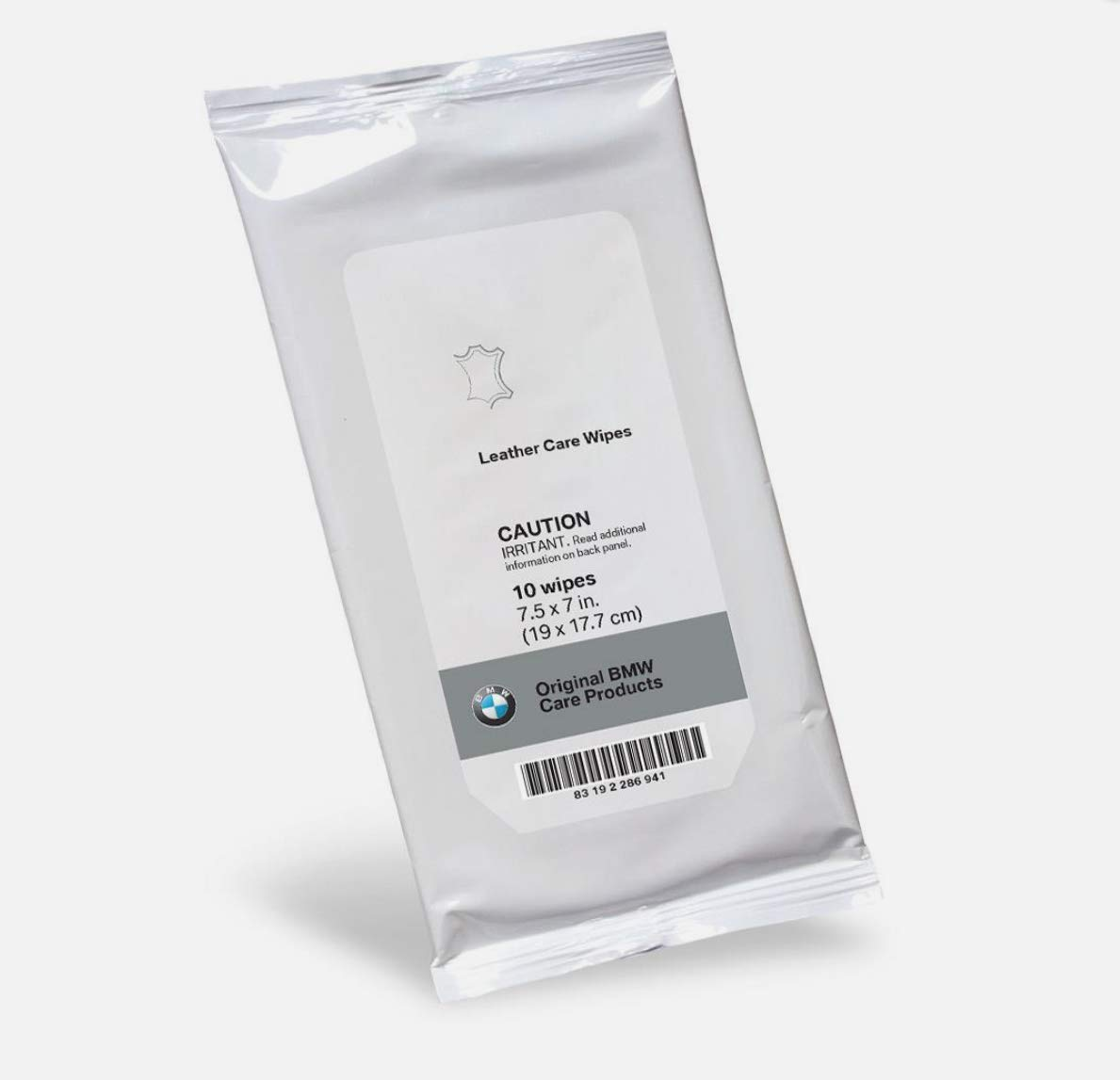 Original BMW Care Products Leather Care Wipes, Pack of 10