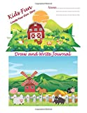 #9: Kids Fun Draw and Write Journal: Composition Half Page Lined Paper with Drawing Space, 8.50 inches x 11 inches with 100 Pages