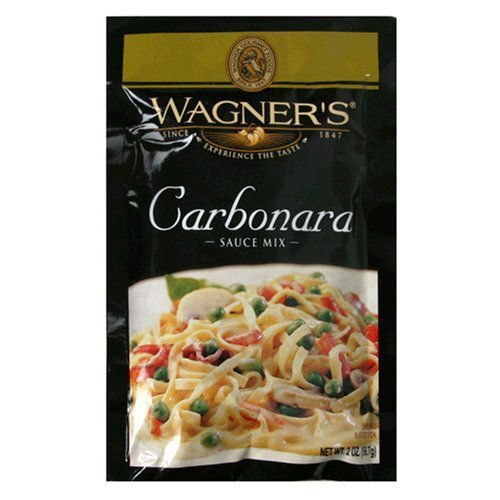 Wagner's Sauce Mix Carbonara, 2 Oz (Pack of 2) (Carbonara Pasta)