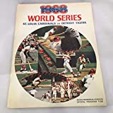 Rare 1968 St. Louis Cardinals Team Signed World Series Baseball Program COA - JSA Certified - MLB Programs