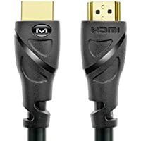 Mediabridge HDMI Cable (50 Feet) Supports 4K@30Hz, High Speed, Hand-Tested, Audio Return Channel
