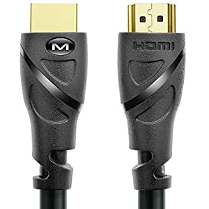 Mediabridge HDMI Cable (10 Feet) Supports 4K@60Hz, High Speed, Hand-Tested, HDMI 2.0 Ready - UHD, 18Gbps, Audio Return Channel
