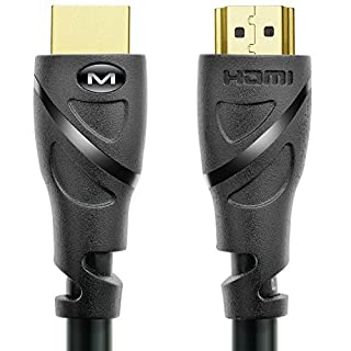 Mediabridge HDMI Cable (6 Feet) Supports 4K@60Hz, High Speed, Hand-Tested, HDMI 2.0 Ready - UHD, 18Gbps, Audio Return Channel (B0019EHU8G) | Amazon price tracker / tracking, Amazon price history charts, Amazon price watches, Amazon price drop alerts